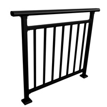 outdoor srair railing design/wrought iron stairs railing/baluster