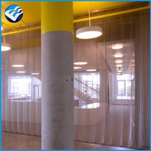 Alibaba manufacture curtain outdoor metal mesh