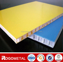 side length 0.4-20mm aluminum/ PP Honeycomb core Reinforced FRP Fiberglass Composite Panel for loading with A3003/A5052