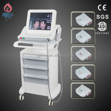Top quality royal wrinkle removal facial lifting Hifu Salon Machine with CE ISO certificates