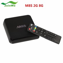 Best Wholesale Factory Price M8s 2g/8g Dual Band 2.4g Wifi Android 4.4 Amlogic S812 Tv Box M8S Easy To Use