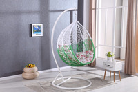 Cheap garden kids playground baby swing hanging egg chair