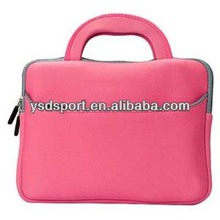 Quality Pink Neoprene Carrying notebook Case