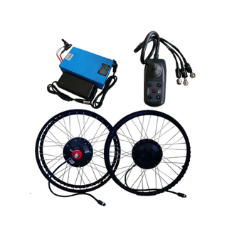 24inch 180W foldable electric joystick controller wheelchair hub motor conversion kit with 16Ah battery