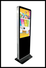 42 inch popular Iphone style LCD video <strong>Advertising</strong> Display exhibit booth standing lcd display