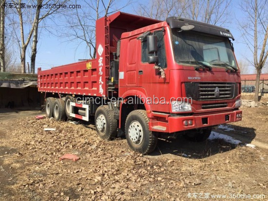 Used/Secondhand HOWO dump truck 8x4