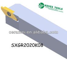 GROOVING,PARTING OFF toolholder SXGR TYPE cutting tool