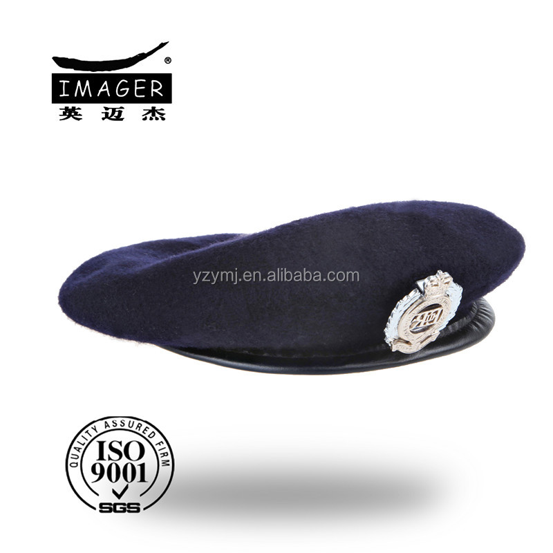 High Quality Field Grade Officer Fashion Military Beret with Badge