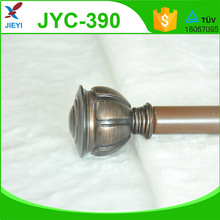 Copper Curtain pole, curtain pole finial