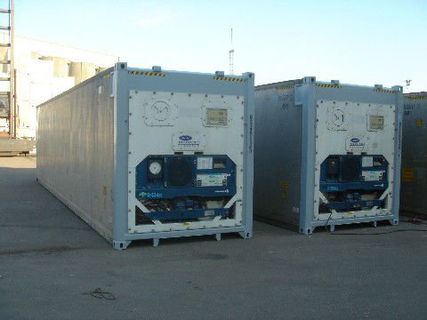 Used Reefer Container 40 ft 9'6