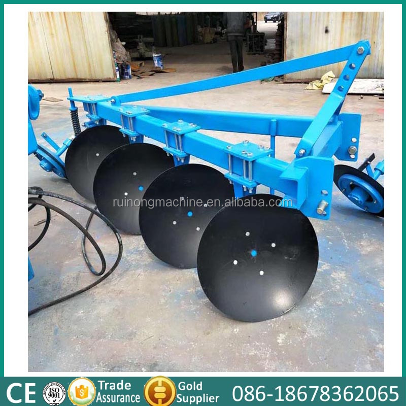 Agricultural equipment 4 blades disc ploughs for sale