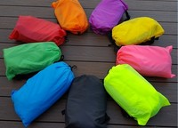 High Quality Outdoor Convenient Inflatable Lounger Air Sleeping Bag Portable Nylon Air Sleeping Bag