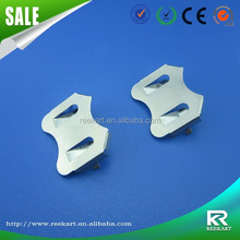 Customized high precision metal stamping battery holder cr2032