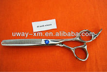 Functional 40 teeth scissors for pet grooming