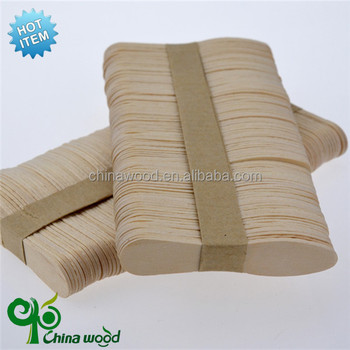 reliable supplier supply icecream wood stick with factory price