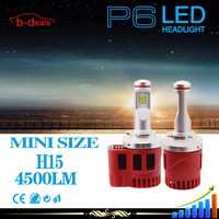 B-deals New arrival fog lights replacement P6 H15 car headlight led