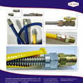 CSA stainless steel flexible gas hoses