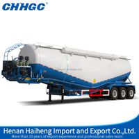 3 Axle Bulk Cement Tanker Semi