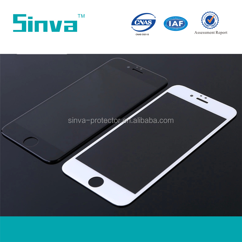 Discounting 9H hard 0.33mm tempered glass screen protector for oppo r810/ full corvered glass film for iphone 6 6s