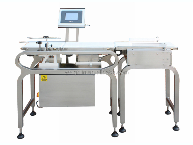 WL-CW1000 1kg online automaic food package conveyor Check weigher