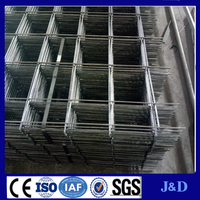 Brick wall reinforced welded wire mesh panel