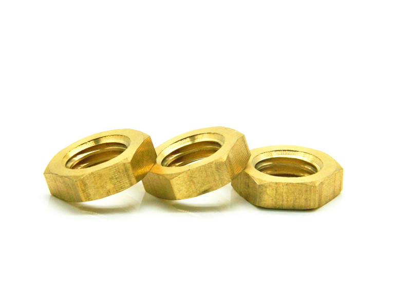 M10 Fine Pitch Carbon Steel Hex Thin Nuts