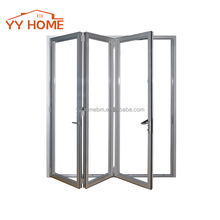 YY Home aluminium folding screen door for interior door