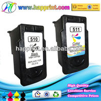Refill ink cartridge for Canon PG-510 CL-511, printer cartridge for Canon 510 cartridge
