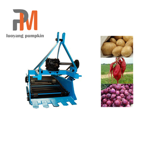 single row potato harvester mini tractor harvester for hot sale