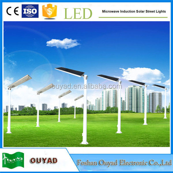 2015 new design integrated solar street light, 10w 20w used street light poles, led street light price list factory direct