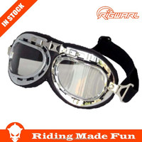 HC Hot Selling Outdoor Sports Protective Motorcycle Helmet Goggles With OEM Service on Straps