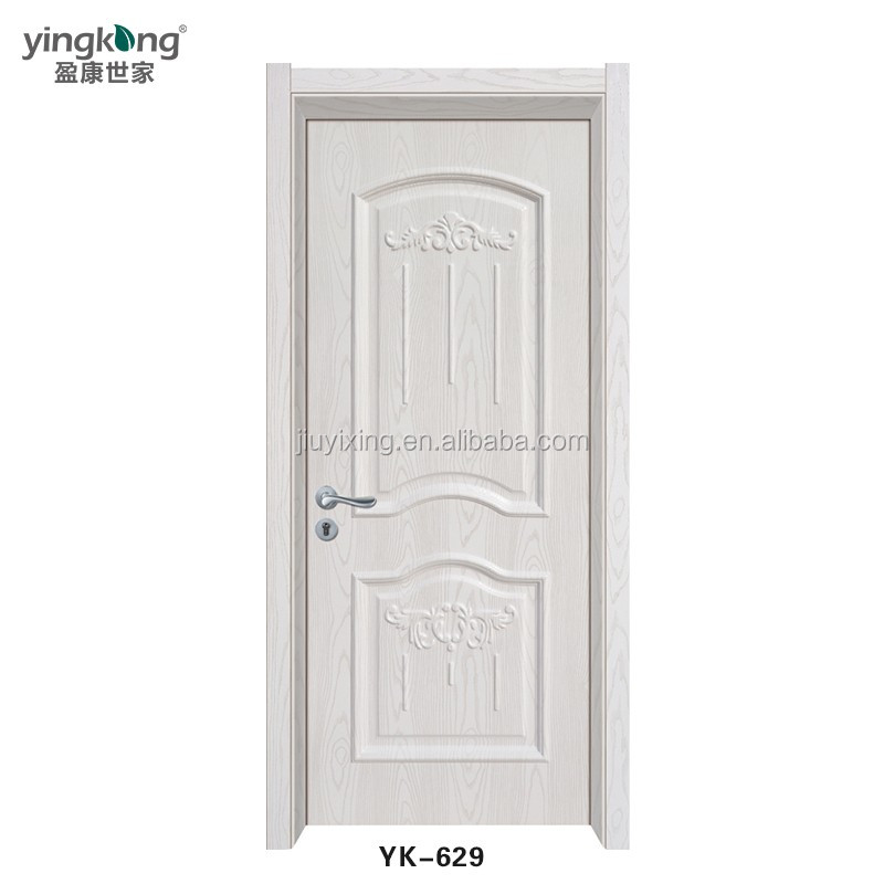 Plain White Door no painting wholesale rfl pvc door new wpc door wpc door skin low
