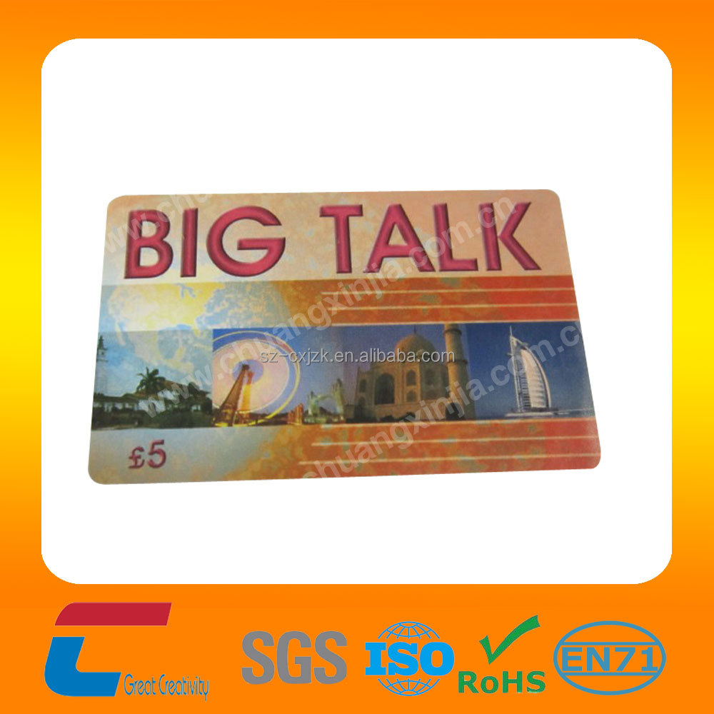 Customized CMYK printing pastic machine printed pvc card with your own logo for business