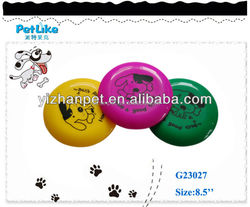 pet frisbee dog toy with dog pattern barking toy dogs walking toy dog Decorative fancy pet products for small medium pets