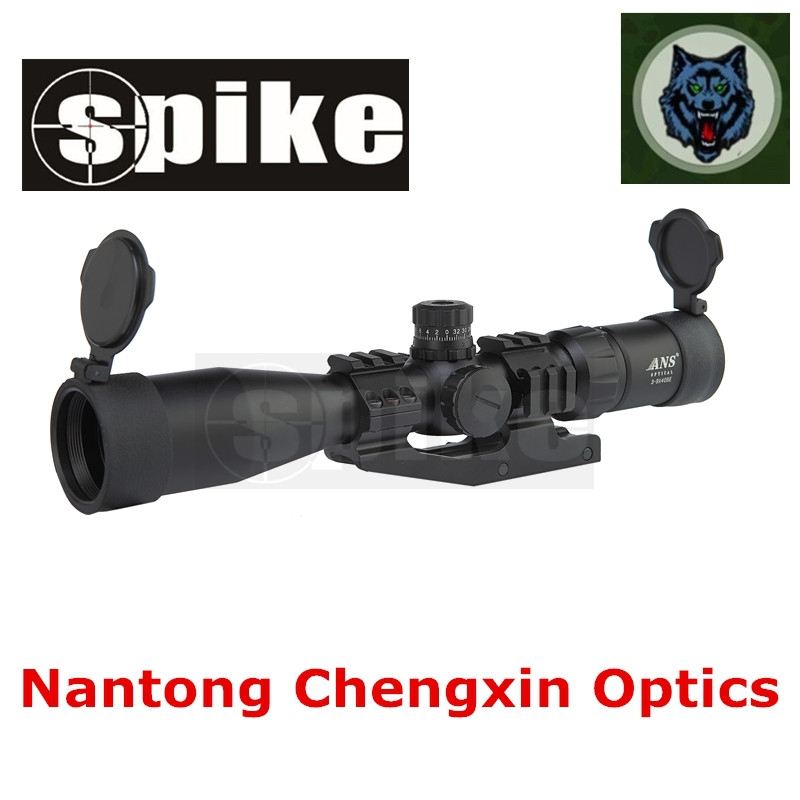 Hunting accessories optical 3-9x40mm R/B/G long range riflescopes for air hunting rifles
