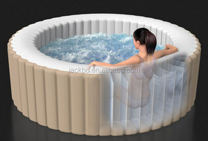 Good quality Round inflatable portable bathtub spa, bathtubs for 4-5person