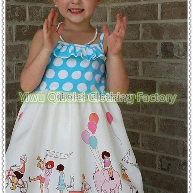 Girls Birthday Party dress Toddler Parade Dress summer 2017