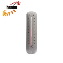 Metal Thermometer,Satin Nickel