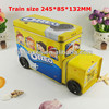 train outlook car shaped chocolate tin box