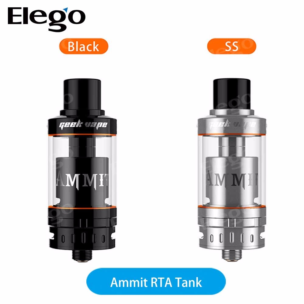 2016 November New Released Geekvape AMMIT RTA , Original 3.5ml Ammit RTA Vape Tank from Geekvape