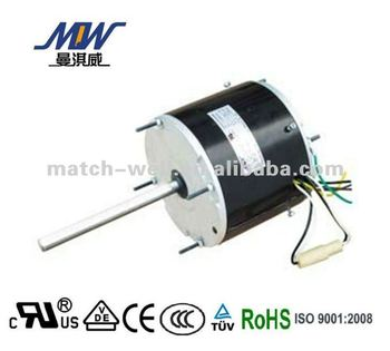Kitchen ventilator condenser fan motor with high efficiency and low noise