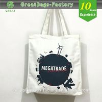 Promotional velcro closure tote bag
