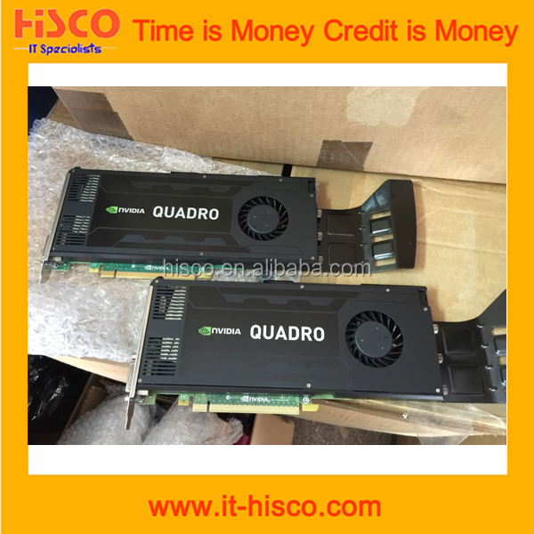 VCQK4000-PB Quadro K4000 3GB 192-bit GDDR5 PCI Express 2.0 x16 Full Height Workstation Video Card