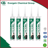 Evergain Acidness RTV strong Acid adhesive silicone sealant for repairing glass