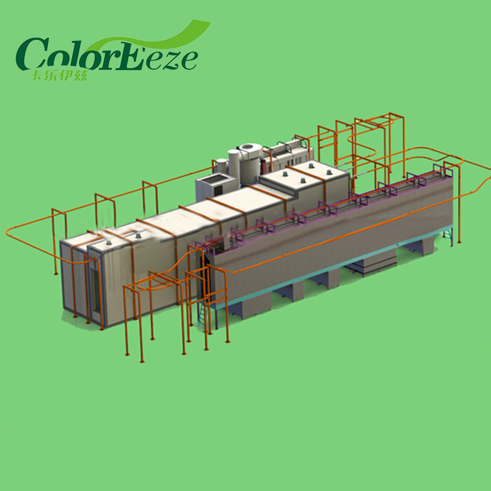New Automatic Powder Coating Line/ Powder Coating Booth