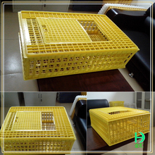 Live chicken cage to transport,plastic poultry transport cage for sale