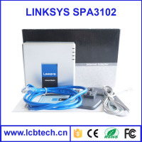Factory price linksys SPA1001 internet voip skype phone adapter with high quality