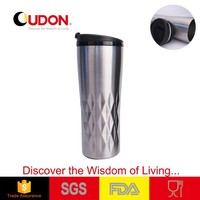 16oz Stainless Steel Metal Type Coffee Mug Thermal Cup