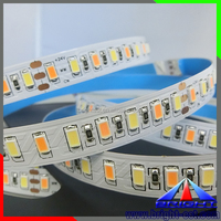 Double Dual White Color Temperature Tunable Led Tape Light Flexible Strip 5630 SMD 120Leds