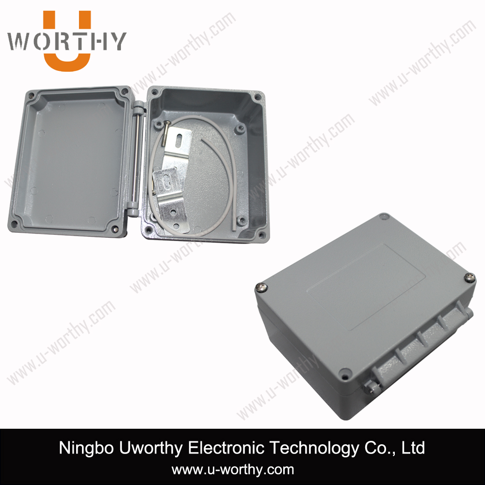 Heavy Duty Die Cast Aluminum Waterproof Hinged Electronic Junction Box